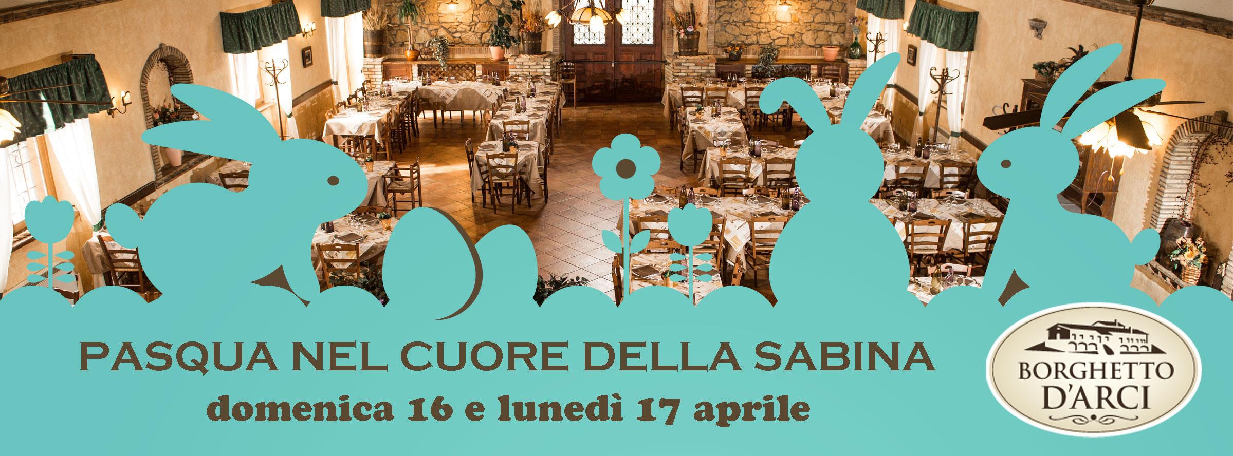 Pasqua 2017 all'Agriturismo Borghetto d'Arci